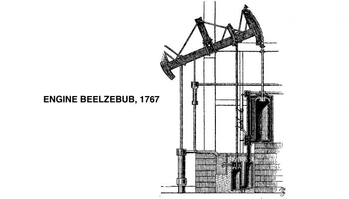 1774 James Watt Fire Engine: Beelzebub