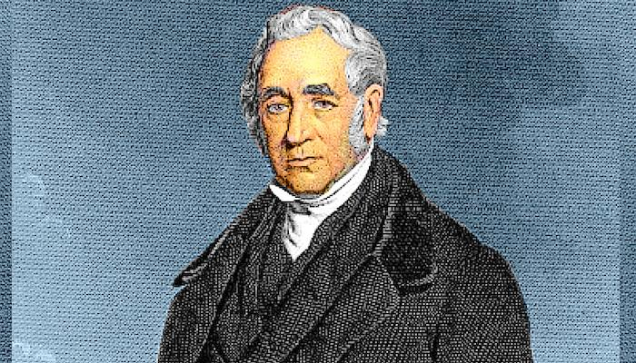 George Stephenson, the Father of Railways