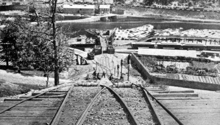 Inclined Plane #1 Summit Hill and Mauch Chunk Railroad