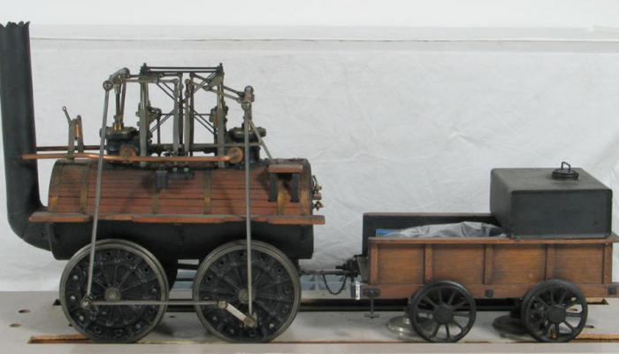 Locomotion No. 1is the first steam locomotive