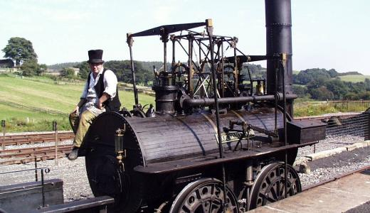 1812 - First Commercial Steam Locomotive