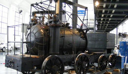 Puffing Billy was one of the three railway engines built by William Hedley